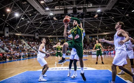 Jonas Valanciunas será uno de los jugadores a seguir de Lituania en el Mundial de baloncesto de 2019.