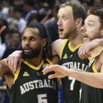 Jugadores de la selección de baloncesto de Australia para los JJOO 2021