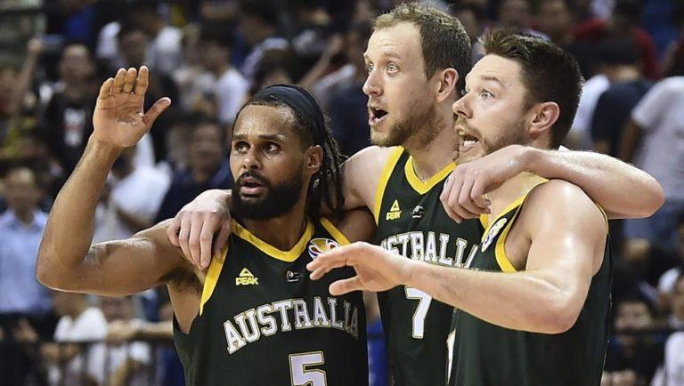 Jugadores de la selección de baloncesto de Australia