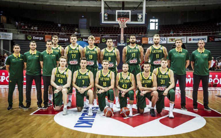 Lista de jugadores y convocatoria de Lituania para el Mundial de baloncesto 2019