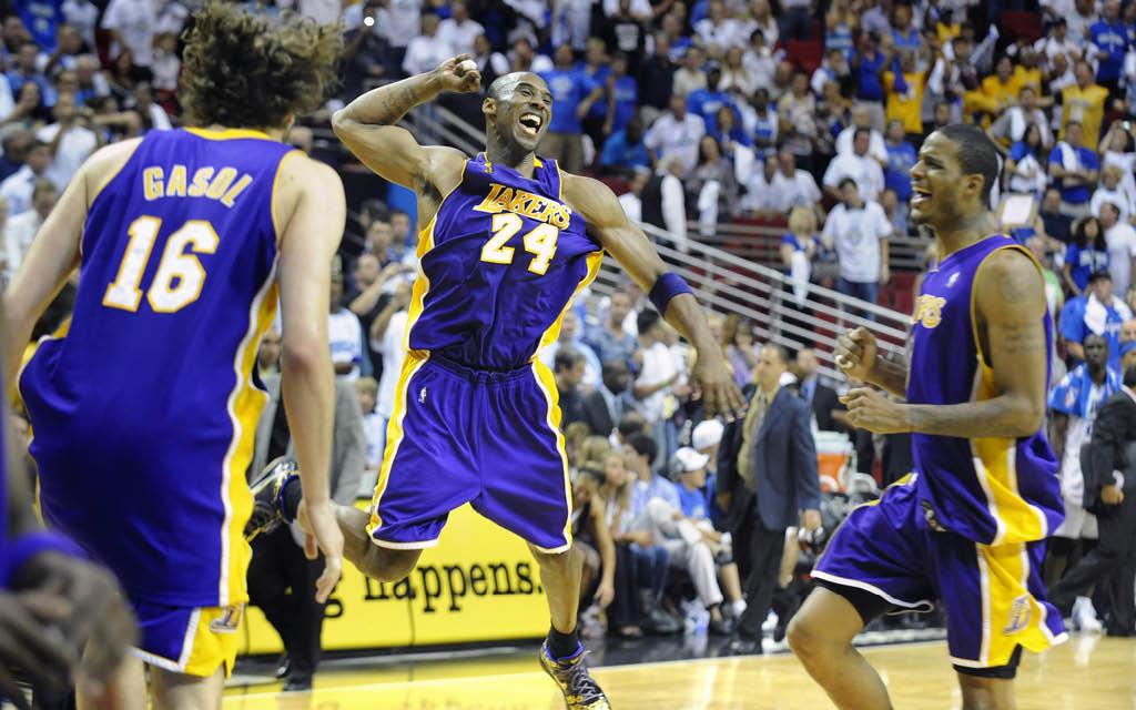 Los Angeles Lakers, campeones de la NBA en 2009 con Pau Gasol y Kobe Bryant