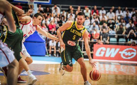 Mantas Kalnietis será uno de los jugadores a seguir de Lituania en el Mundial de baloncesto de 2019.