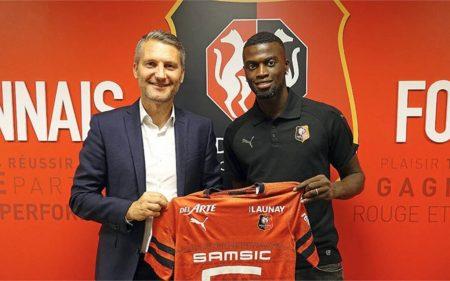 M'Baye Niang, regresa para formar parte de la plantilla del Rennes 2019-2020.