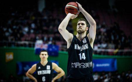 Rob Loe será uno de los jugadores a seguir de Nueva Zelanda en el Mundial de baloncesto de 2019.