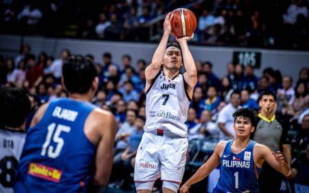 Ryusei Shinoyama será uno de los jugadores a seguir de Japón en el Mundial de baloncesto de 2019.