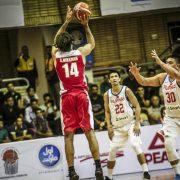 Jugadores de la selección de baloncesto de Irán para los JJOO 2021