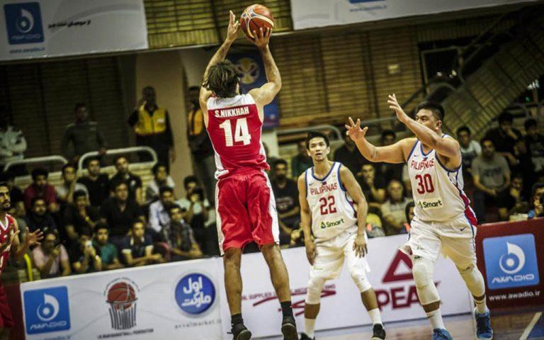 Samad Nikkhah Bahrami es uno de los jugadores de la selección de baloncesto de Irán