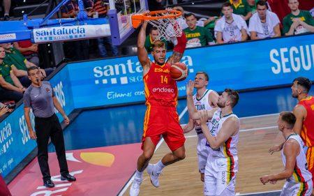 Willy Hernángomez fue el jugador más destacado del España vs Lituania.