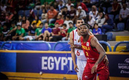 Yanick Moreira será uno de los jugadores a seguir de Angola en el Mundial de baloncesto de 2019.