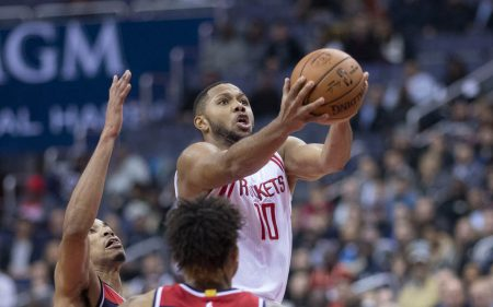 Eric Gordon será clave en la plantilla de Houston Rockets 2019-20.
