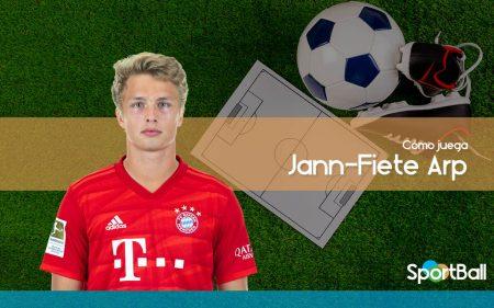 Jann-Fiete Arp - Bayern Munich - Cómo juega, equipos y estadísticas