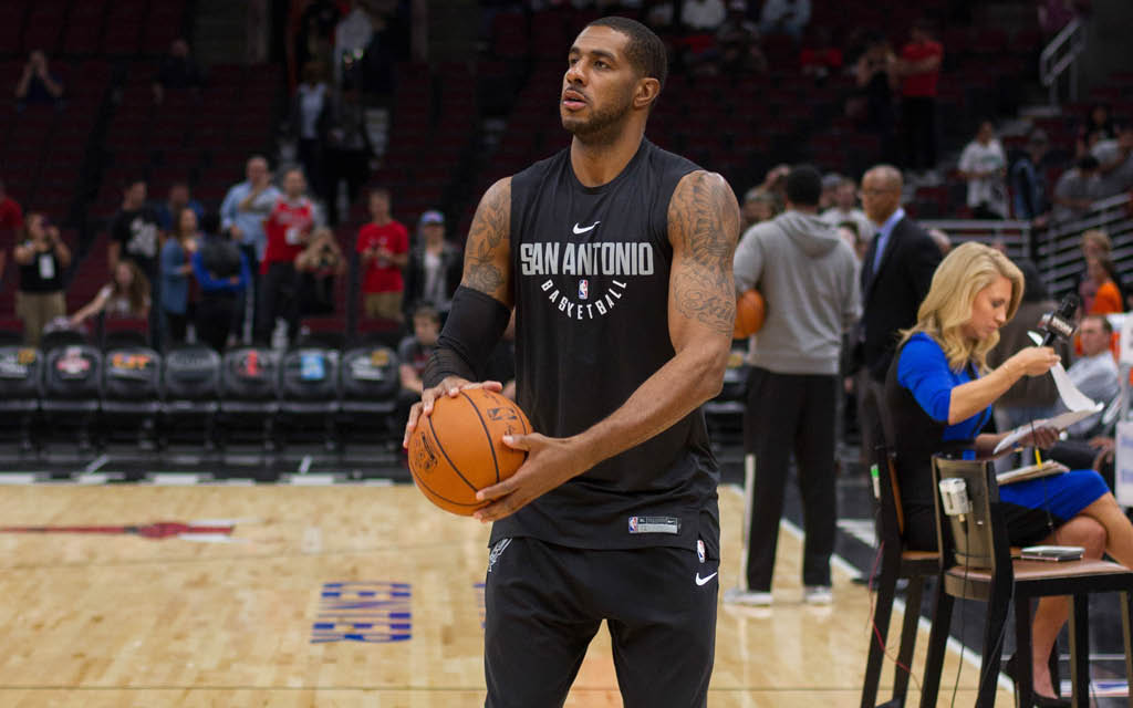 Mejores ala-pívots de la NBA: LaMarcus Aldridge.