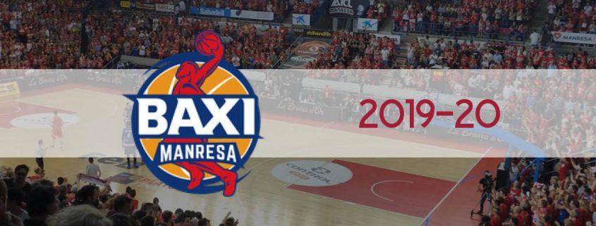 Plantilla BAXI Manresa 2019-20