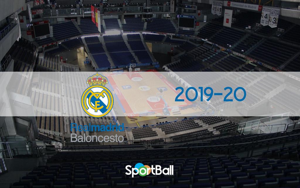 Plantilla Real Madrid Baloncesto 2019-20