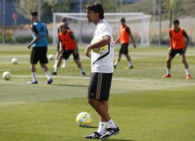 Raul González - Entrenador Real Madrid Castilla