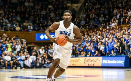 Zion Williamson con Duke