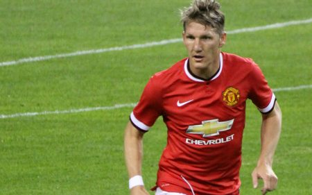 La etapa de Bastian Schweinsteiger en el Manchester United no fue muy positiva.