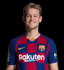 Jugadores y plantilla del Barcelona 2019-2020 - De Jong