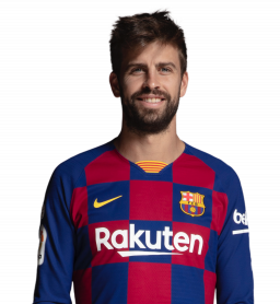 Jugadores y plantilla del Barcelona 2019-2020 - Piqué