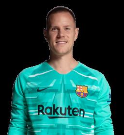 Jugadores y plantilla del Barcelona 2019-2020 - Ter Stegen