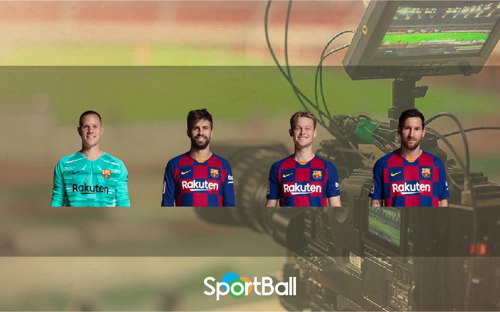 Jugadores y plantilla del Barcelona 2019-2020