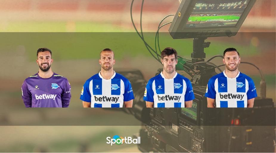 Jugadores y plantilla del Deportivo Alavés 2019-2020