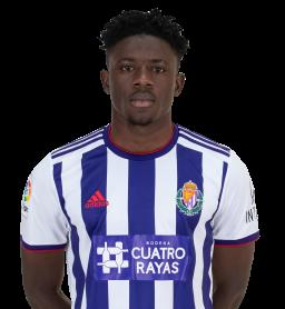 Jugadores y plantilla del Real Valladolid 2019-2020 - Mohamed Salisu