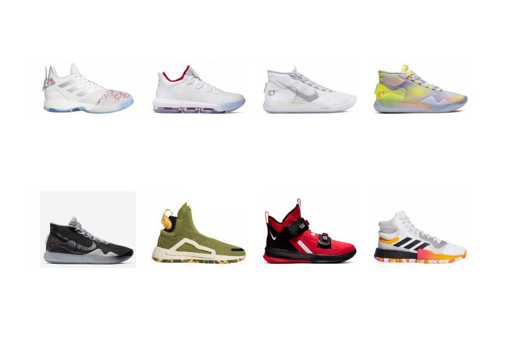 Las mejores zapatillas de baloncesto NBA de la temporada 201920