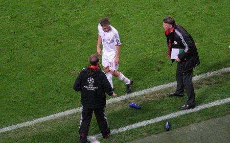 Louis van Gaal, durante su etapa en el Bayern Munich.