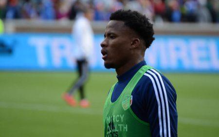 Alvas Powell, con la camiseta del FC Cincinnati será uno de los jugadores a seguir del Inter Miami FC.