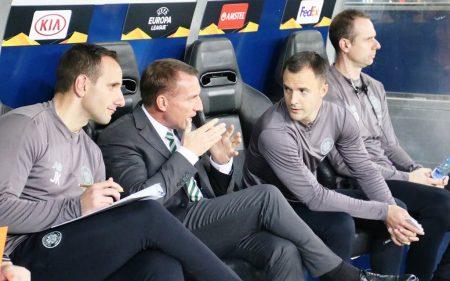 Brendan Rodgers batió récords en el Celtic de Glasgow.