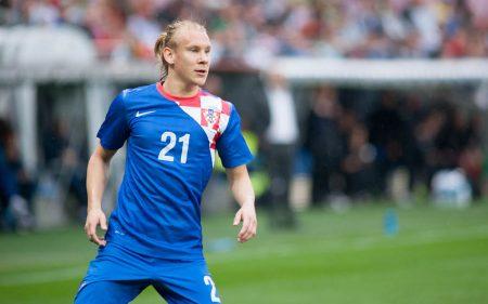 Domagoj Vida triunfó más con la Selección de Croacia que en clubes.