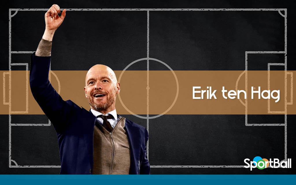 Equipos entrenados por Erik ten Haag y estilo de juego