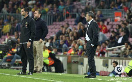 El FC Barcelona de Ernesto Valverde no carbura.