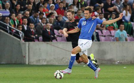 Franco Vázquez llegó a jugar con Italia.