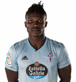 Jugadores y plantilla del Celta de Vigo 2019-2020 - Joseph Aidoo