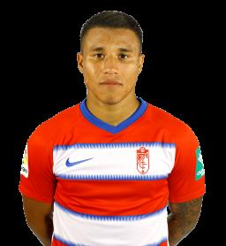 Jugadores y plantilla del Granada 2019-2020 - Darwín Machís