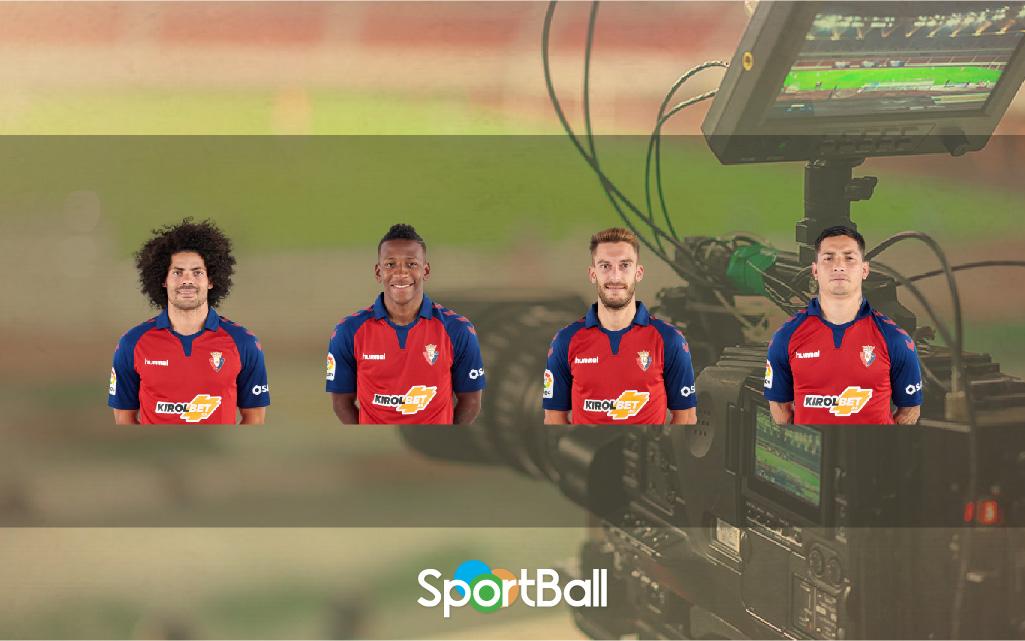 Jugadores y plantilla del Osasuna 2019-2020