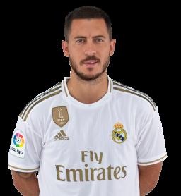 Jugadores y plantilla del Real Madrid 2019-2020 - Eden Hazard