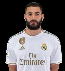Jugadores y plantilla del Real Madrid 2019-2020 - Karim Benzema