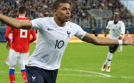 Kylian Mbappé Selección de Francia