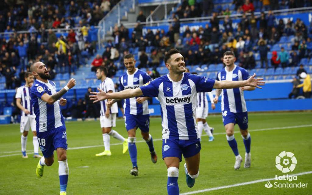 Lucas Pérez está firmando una espectacular temporada 2019-2020 en el Deportivo Alavés