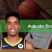 La irrupción de Malcolm Brogdon en Indiana Pacers