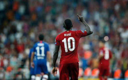 Sadio Mané es candidato a Balón de Oro con el Liverpool.