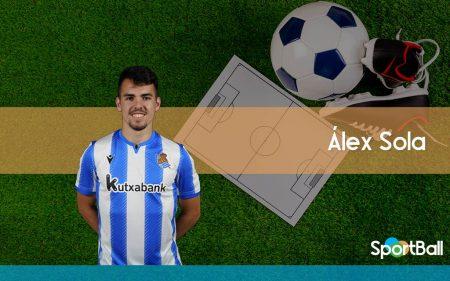 Jugadores jóvenes y promesas de la Real Sociedad: Álex Sola
