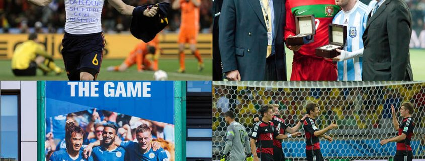 10 momentos históricos del fútbol de 2010 a 2020