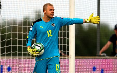 Alexander Schlager, uno de los jugadores del LASK Linz más destacados.