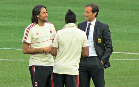 Allegri, el último entrenador estable del AC Milan.