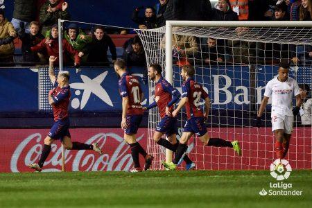 Chimy Ávila es imprescindible en el Osasuna 2019-2020.