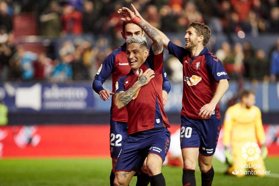 Chimy Ávila es el máximo goleador del Osasuna.